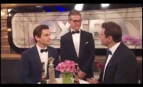 Matt Bomer's Interview after receiving Golden Globe Award