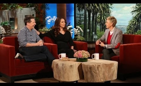 Maya Rudolph and Sean Hayes Chat with Ellen