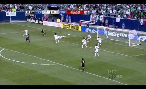 MEXICO VS COSTA RICA (4-1)COPA ORO 2011