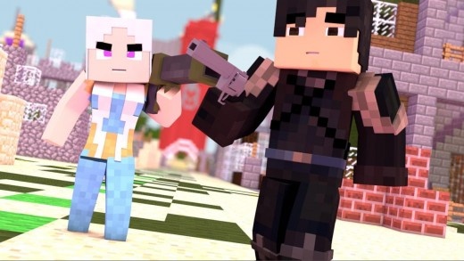 Minecraft : Cinco – Daenerys e Jon Snow #1