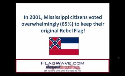 Mississippi State Flag Controversy @ FlagWave.com