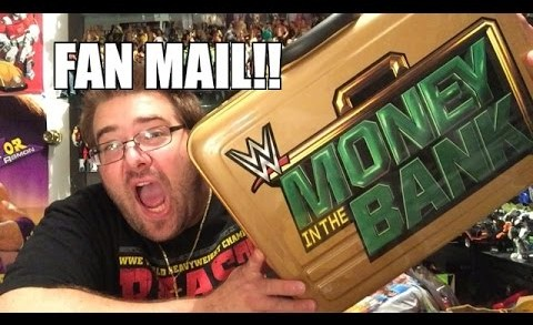 MONEY IN THE BANK Briefcase FOR FREE?? Grim UNBOXES WWE Figures FAN MAIL
