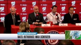 Nats introduce Max Scherzer (Part 1)