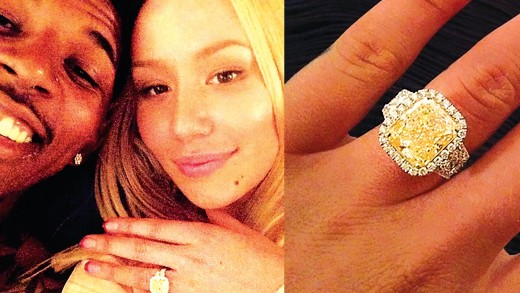 Nick Young & Iggy Azalea Engaged, Check Out Her $500K Ring & the Proposal