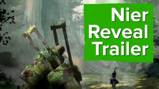 Nier Reveal Trailer – E3 2015 Square Enix Conference – Subtitle TBA!