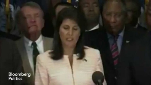 Nikki Haley: It's Time to Move the Confederate Flag From Capitol Grounds