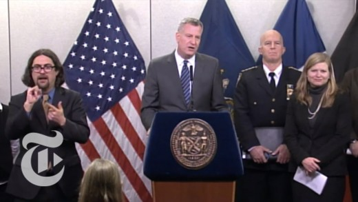 NYC Weather: No Food Takeout During Winter Storm, De Blasio Says | Winter Storm 2015