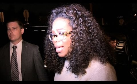 Oprah Winfrey — Chokes Up Over Bobbi Kristina