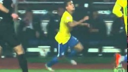Philippe Coutinho Amazing Sombrero Brazil vs Paraguay Copa America 27/06/2015