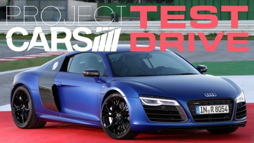 Project CARS Test Drive : Audi R8 (Now with added Face Cam!)