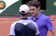 R. Federer v. A. Falla 2015 French Open Men's Highlights / R128