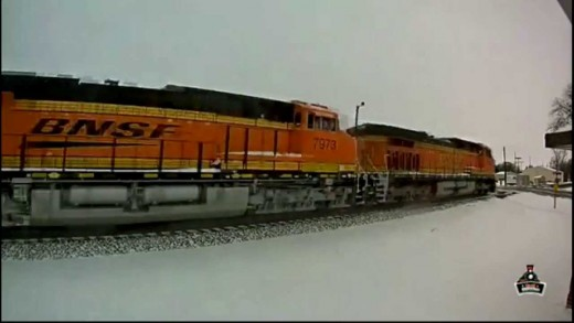 Railstream Railcam Series #54- Coal City, IL (2/26/15)
