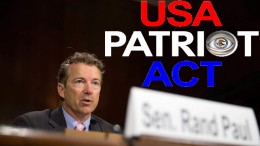 Rand Paul Fights The Patriot Act