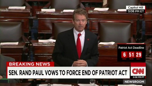 Rand Paul vows to force the expiration of the PATRIOT Act