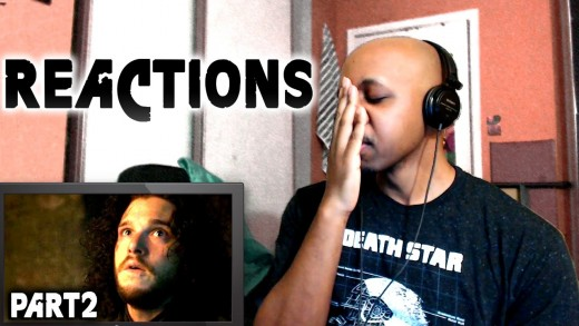 REACTIONS: Game of Thrones Season 5 Episode 10 Jon Snow Scenes [P2]
