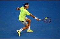 Roger Federer ♦ Amazing Backhands in Grand Slam (HD)
