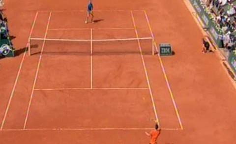 Rolan Garos: Đoković – Nadal 1:0 poslednji poeni prvog seta