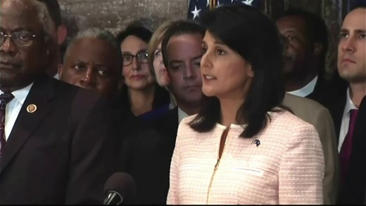 S.C. Gov. Nikki Haley Calls For Removal of Confederate Flag from Capitol grounds [FULL SPEECH]