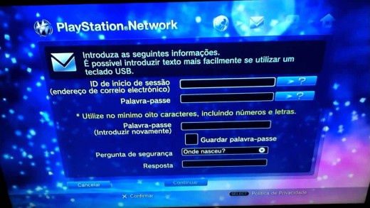 Saiba como cair de cabe̤a na PSN Brasileira РParte 1