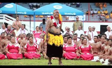 Sanapu village performing for American Samoa 2014 Flag Day