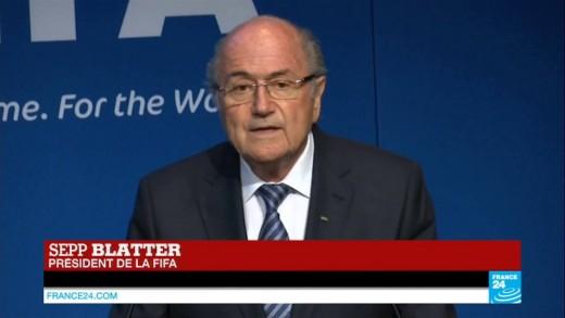 Sepp Blatter démissionne de la présidence de la Fifa : son allocution en intégralité