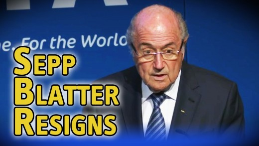Sepp Blatter resigns as FIFA president, watch his announcement here!