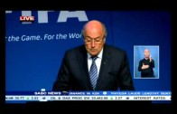 Sepp Blatter says he will step down as FIFA president