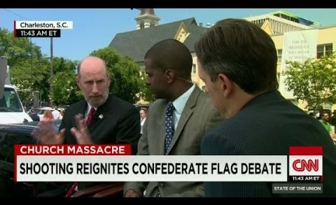 Shooting reignites Confederate flag debate