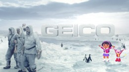 South Pole, Dora the Explorer: It's What You Do – GEICO