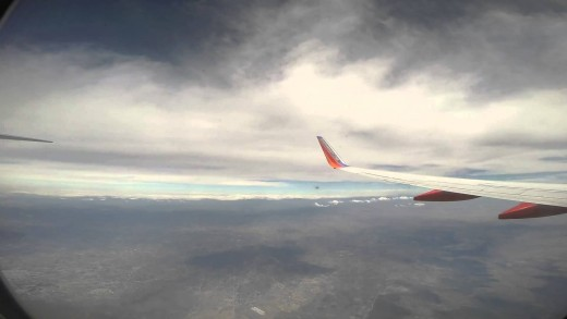 Southwest Airlines Boeing B737-700 San Antonio – Mexico City Full Flight