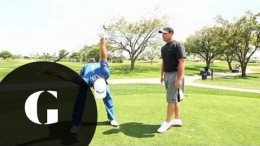 Stretching with Dustin Johnson-Fitness Friday-Golf Digest