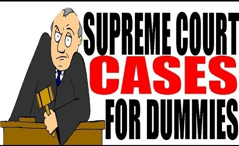 Supreme Court Cases For Dummies: US History Review
