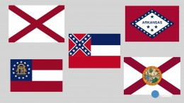 The history of the Confederate Flag