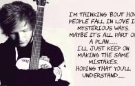 Thinking Out Loud by  Ed Sheeran (LYRICS) Album Version