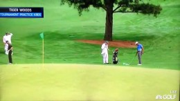 Tiger Woods – Chipping / Pitching Practice (2015 Masters)