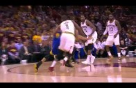 Timofey Mozgov Blocks Stephen Curry | Warriors vs Cavaliers | Game 6 | June 16, 2015 | NBA Finals