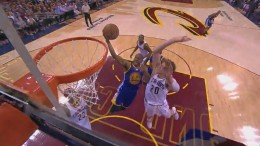 Timofey Mozgov's Huge Block On Andre Iguodala   Warriors vs Cavaliers   Game 6   2015 NBA Finals