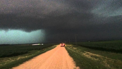 Tornado Sterling – Sublette, Illinois 6/22/15 – Super Cell