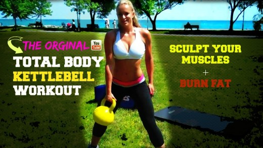 Total Body Kettlebell Workout Routine