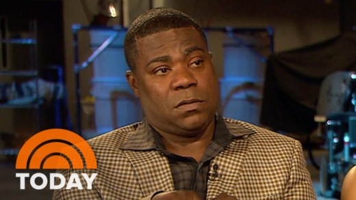 Tracy Morgan Makes Emotional Return To 'SNL' Studio | TODAY
