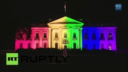 USA: White House gets a rainbow makeover after gay marriage ruling