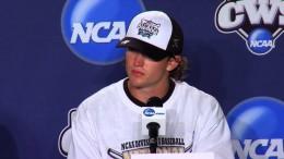 Vanderbilt Press Conference after Winning College World Series