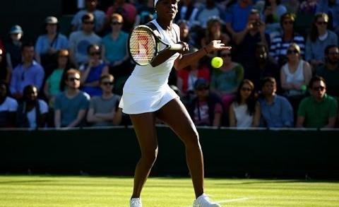 Venus Williams vs Madison Brengle Wimbledon 2015 Highlights R1