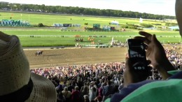 View From The Grandstand: American Pharaoh Wins The Triple Crown