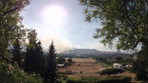 Wenatchee Canyons Fire 2012/09/09