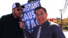 Westboro Baptist Church Get Really Pissed Off by Brick Stone