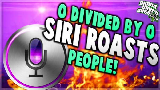 """0 Divided By 0″ Siri Trolling! GTA V Trolling"