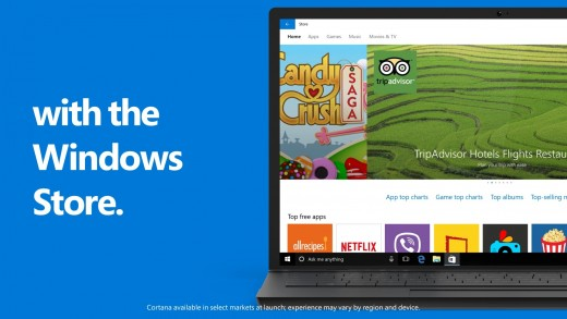 10 Reasons to Upgrade to Windows 10: WINDOWS STORE