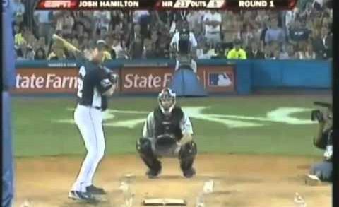2008 MLB Home Run Derby Josh Hamilton