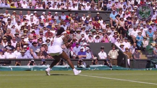 2015 Day 10 Highlights, Serena Williams vs Maria Sharapova semi-final